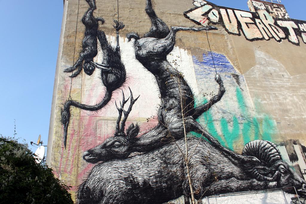 Граффити от ROA