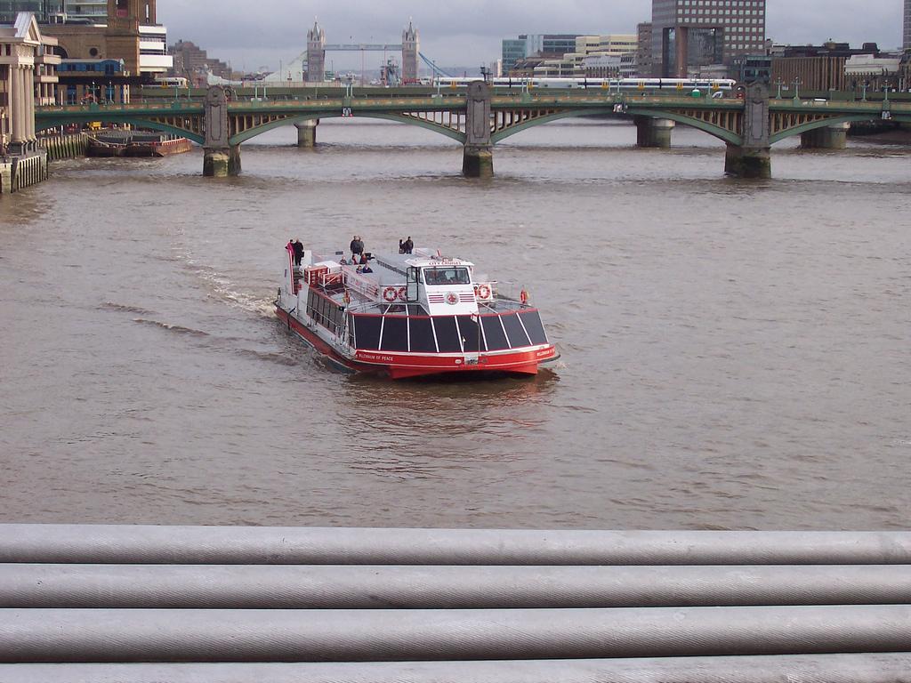 Речной круиз по Темзе