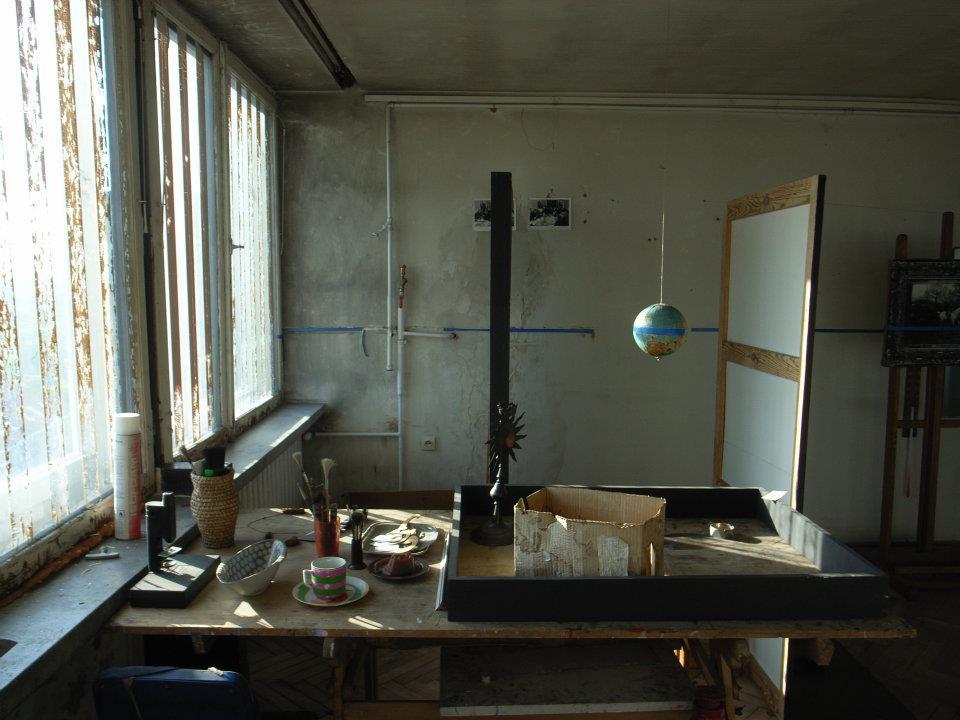 Edward Krasiński's Studio