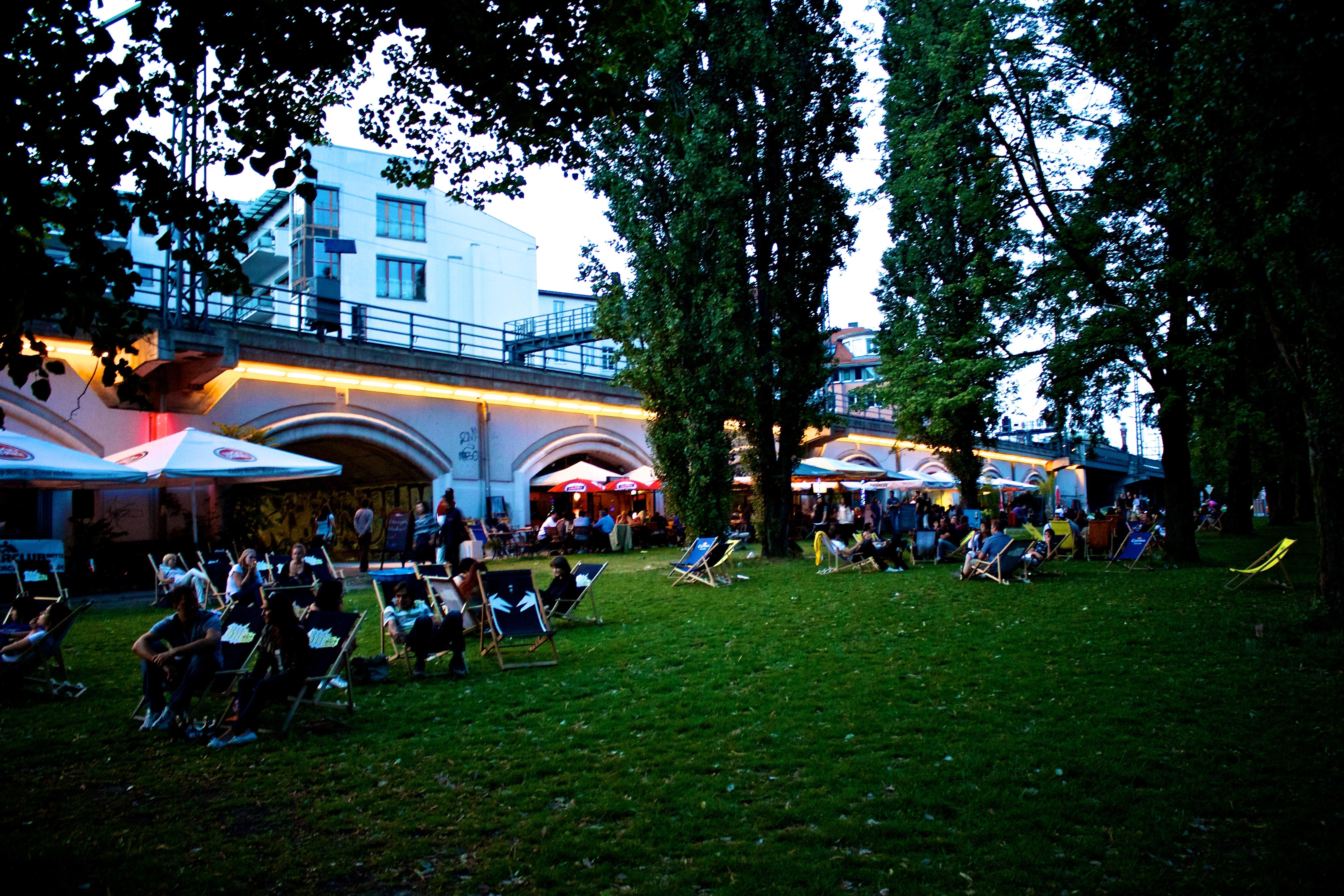 Парк Monbijoupark