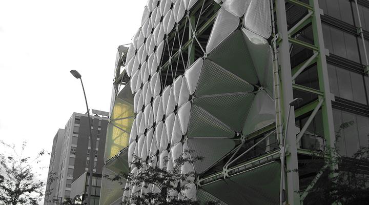 Здание Media -TIC