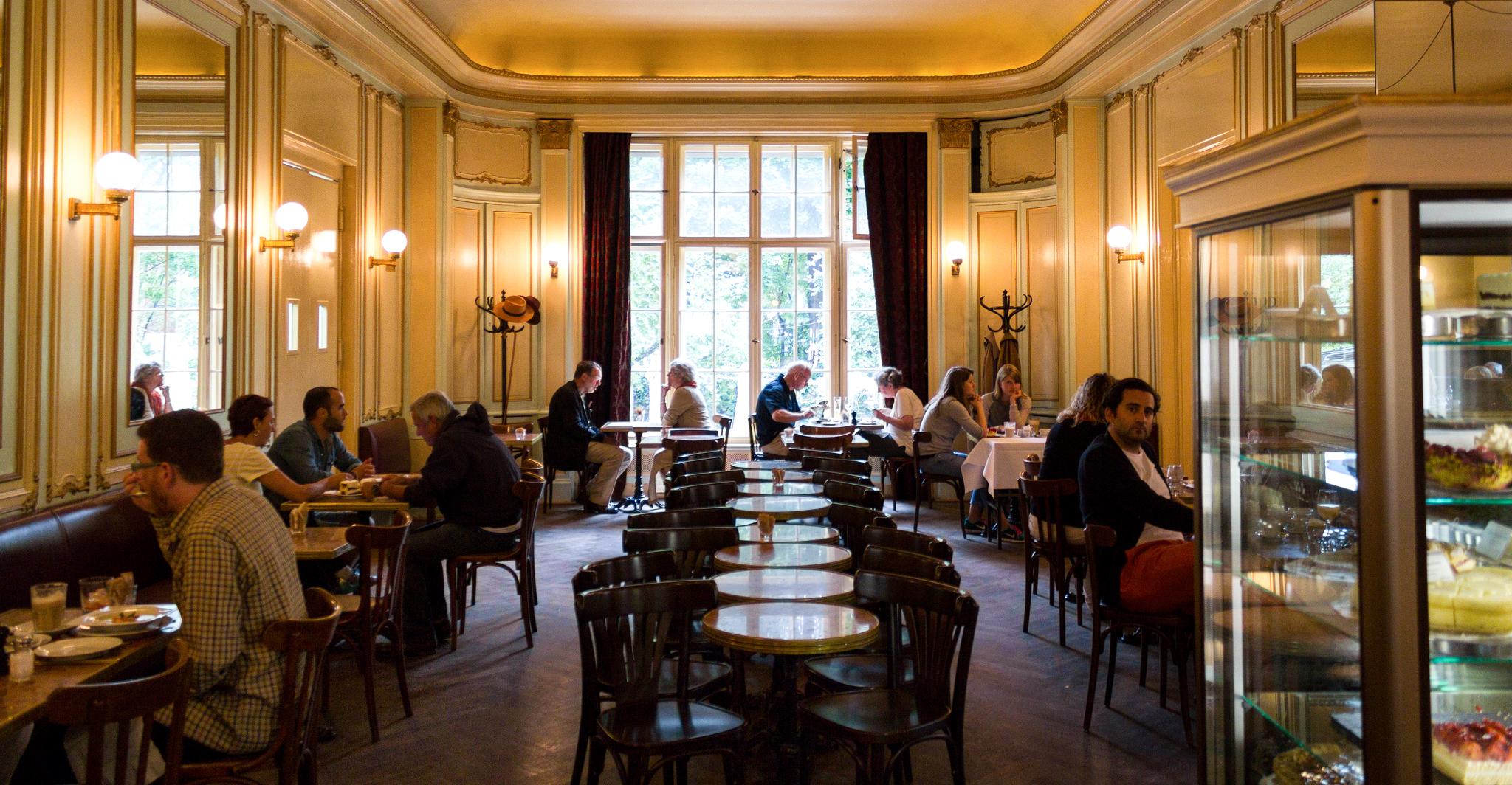 Атмосферный Берлин: кафе где приятно провести время
