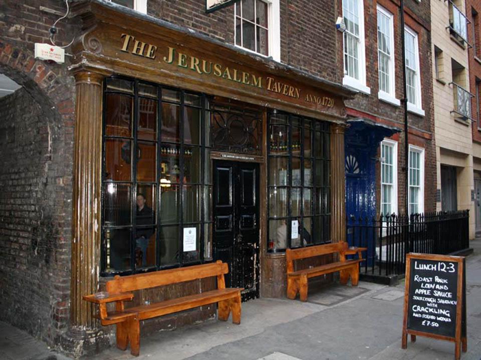 The Jerusalem tavern