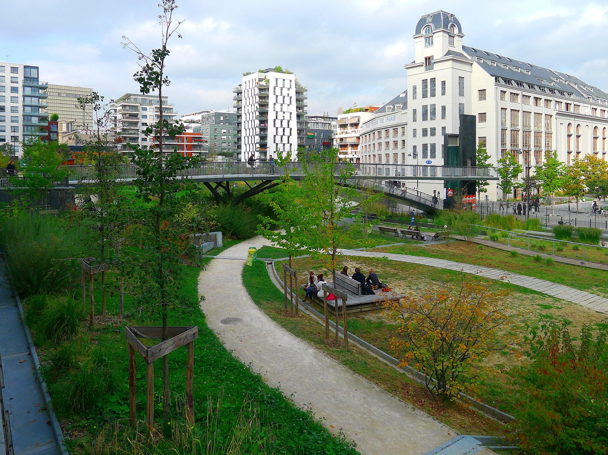 Jardins Grands Moulins Abbé Pierre