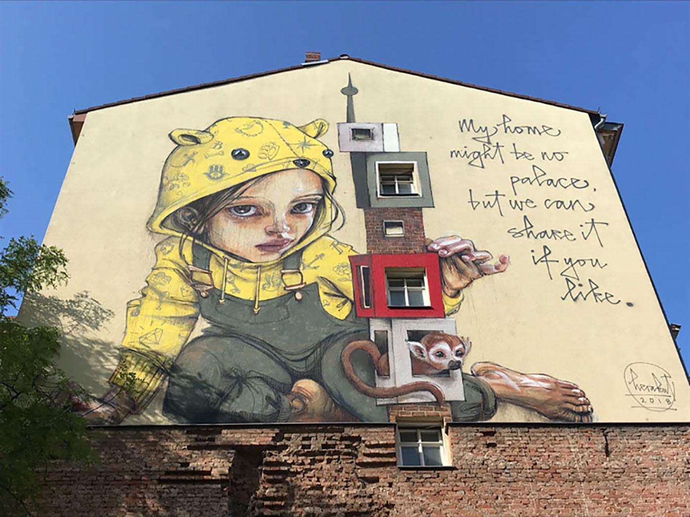Берлин: мекка стрит-арта