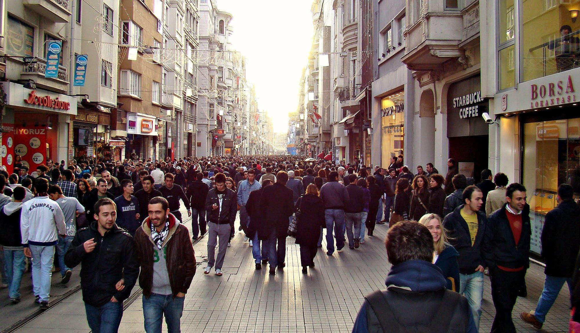 День независимости: улица Истикляль и окрестности