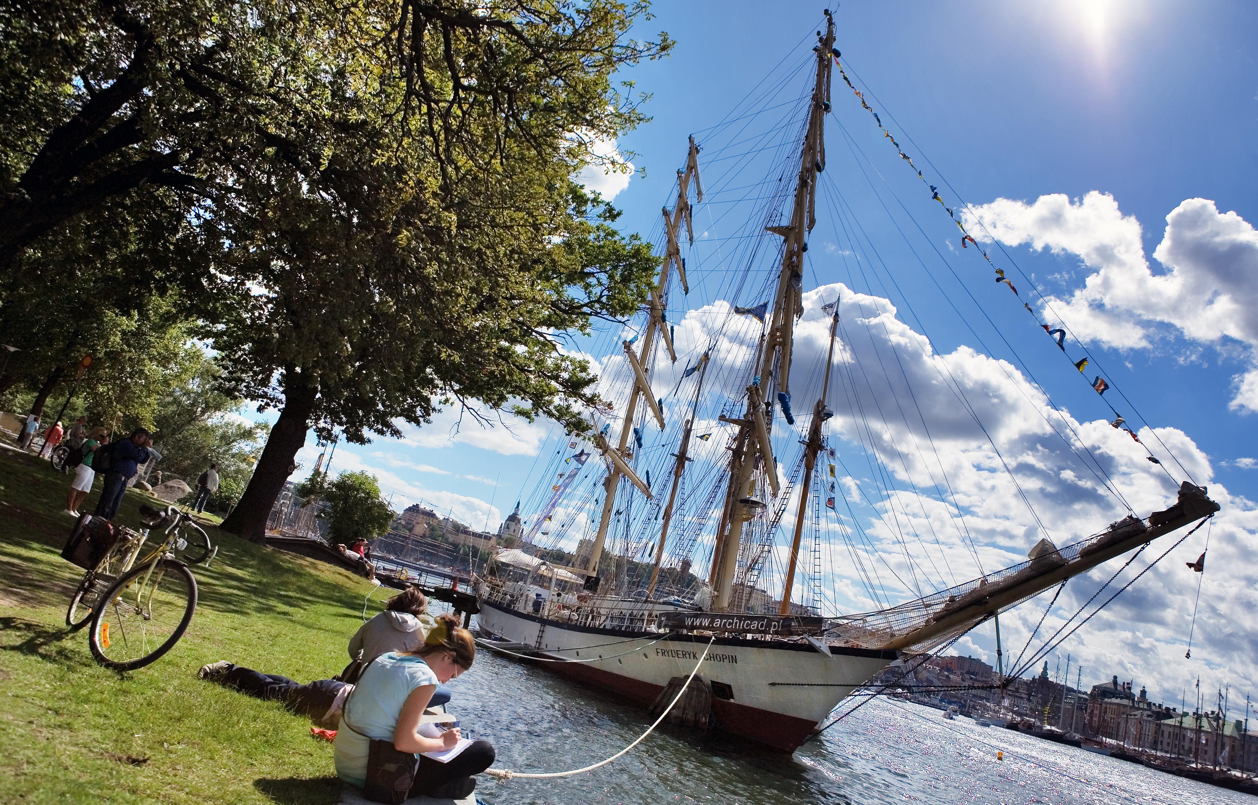 Парки Стокгольма: один день на природе