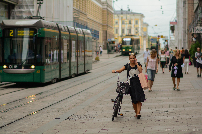 Неизвестные районы Хельсинки
