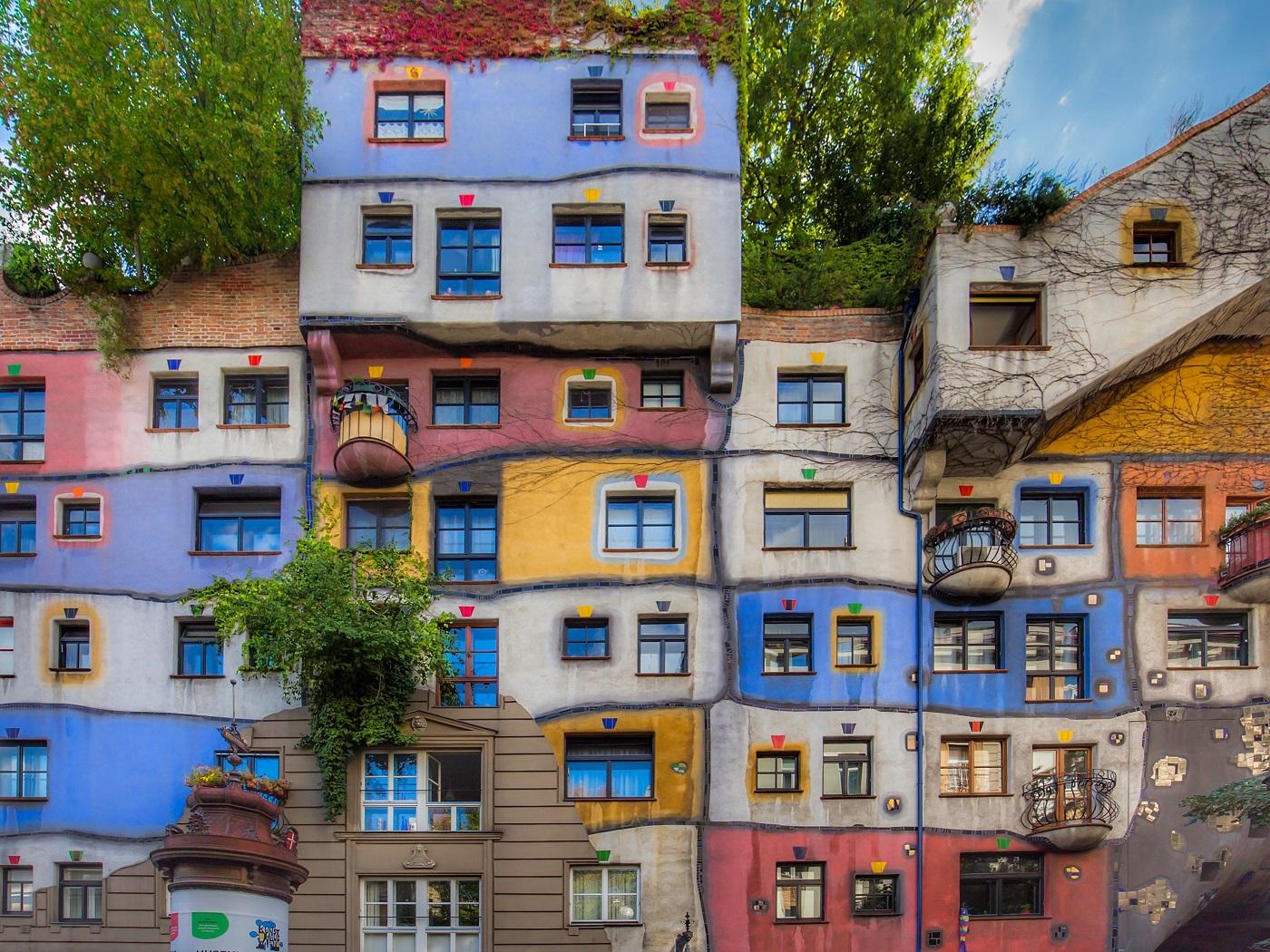 Hundertwasserhaus (Дом Хундертвассера)