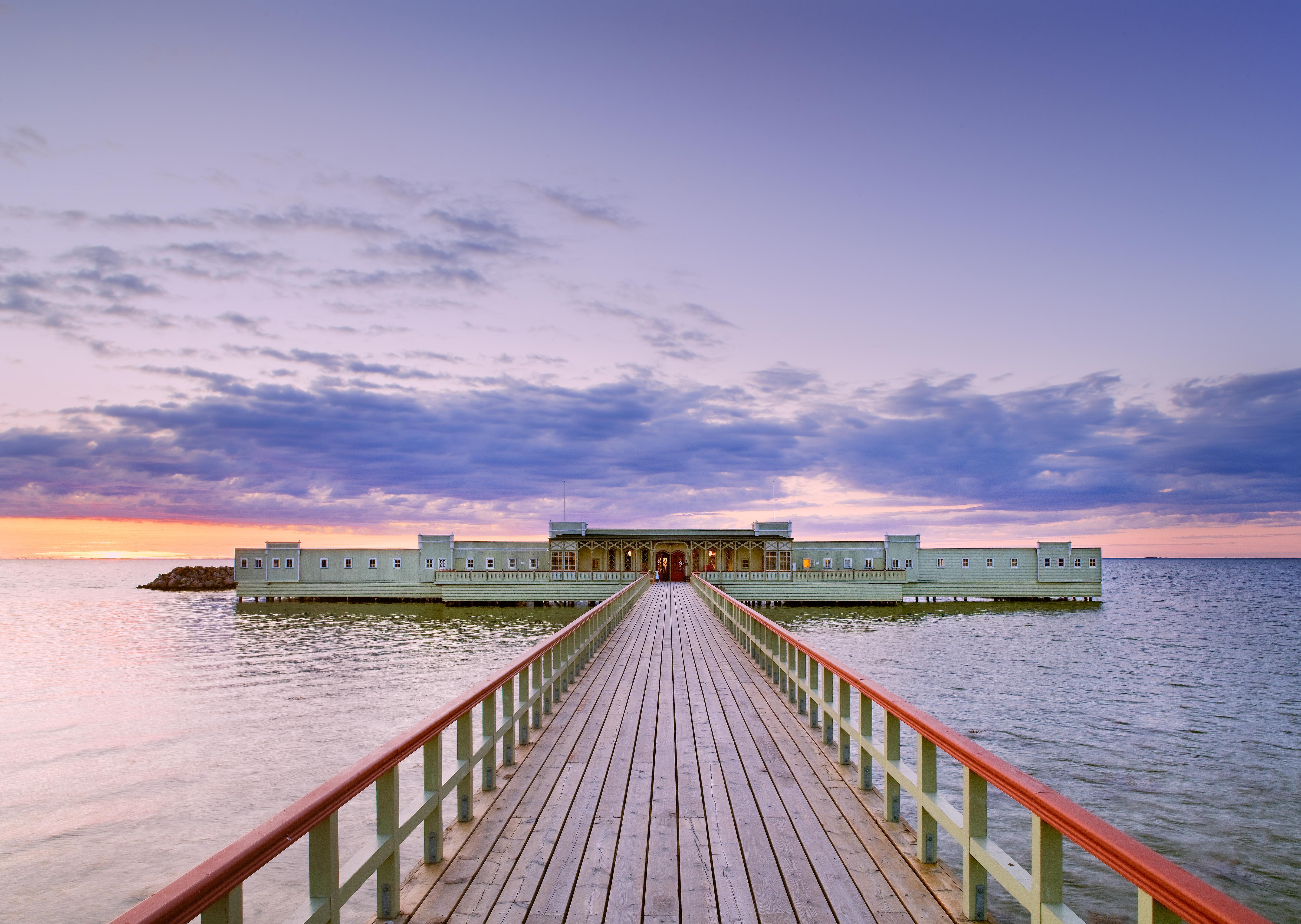 Купальни Ribersborgs kallbadhus