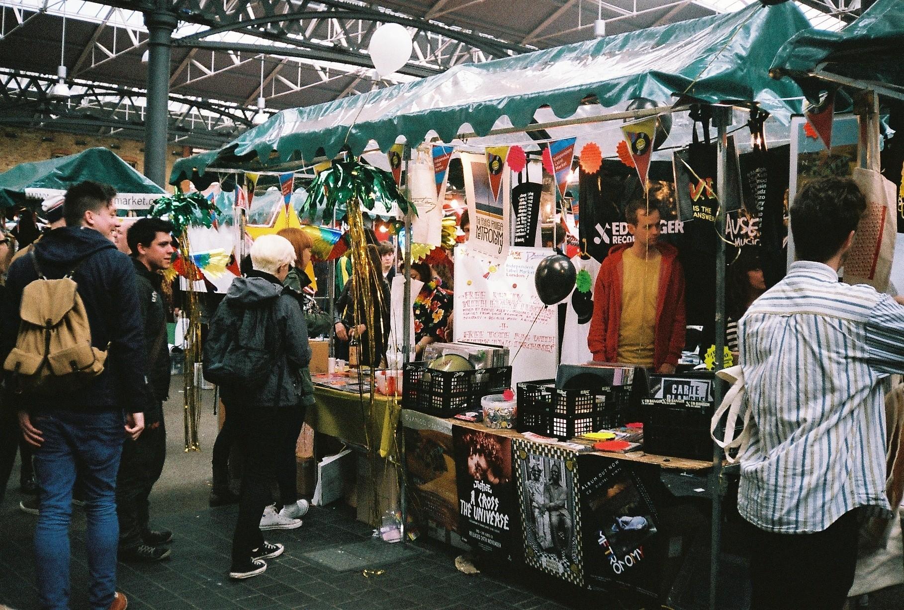 Old Spitalfield's market