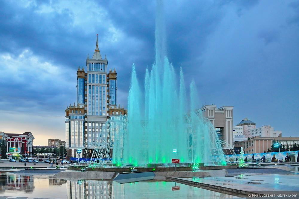 Смотровая площадка Мордовского госуниверситета