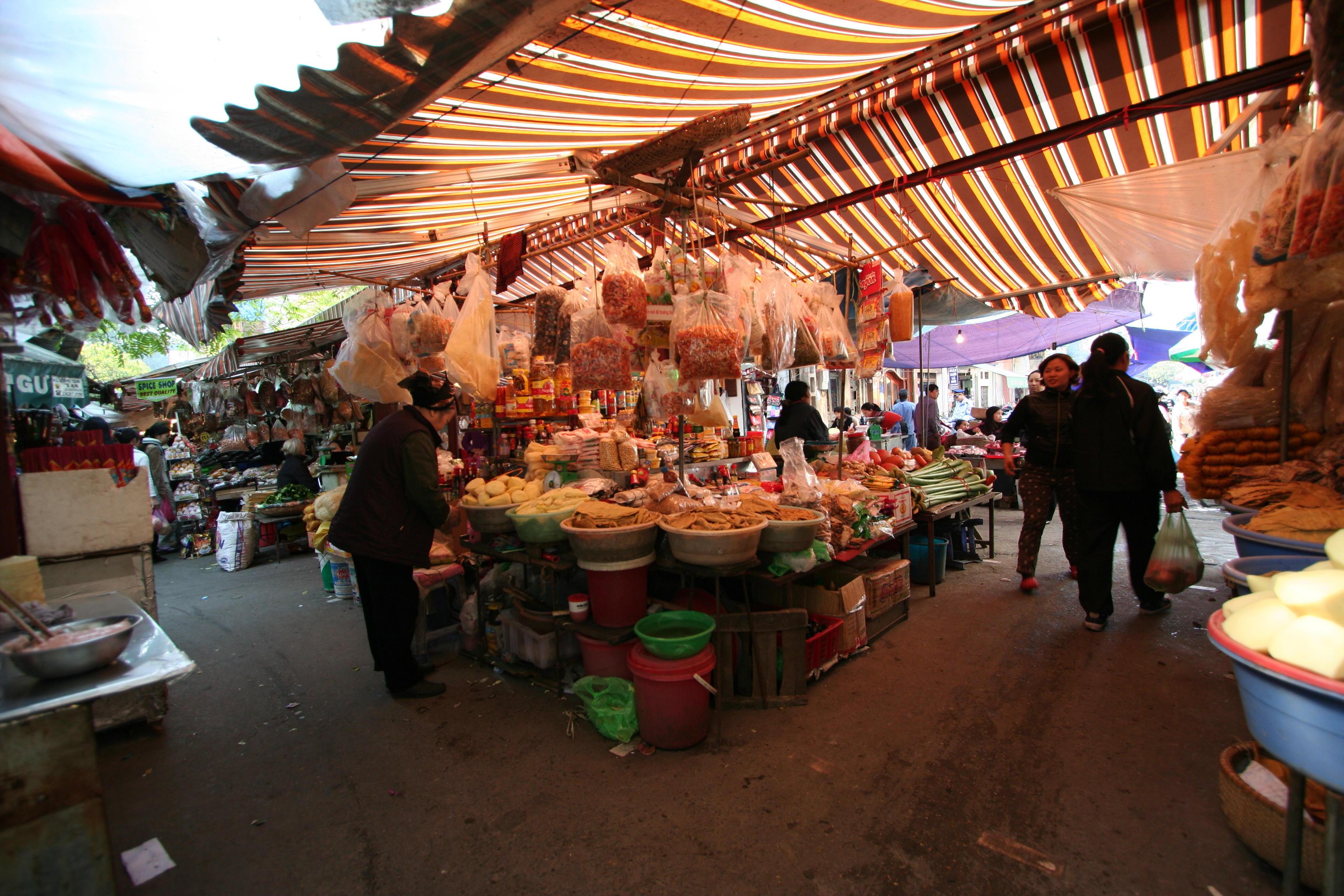 Рынок в Старом городе