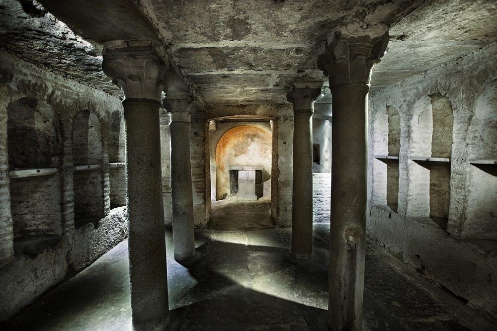 Insula romana sotto Palazzo Specchi