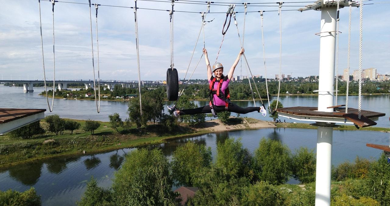 Веревочный парк «Высоцкий»