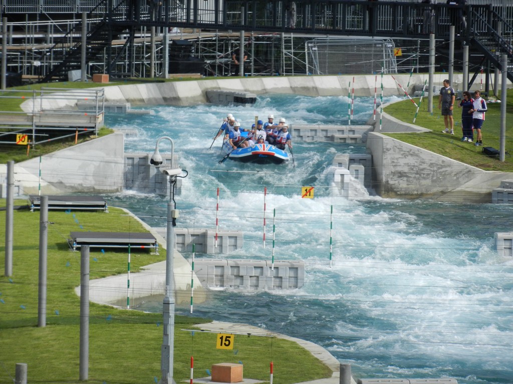 Рафтинг Lee Valley White Water