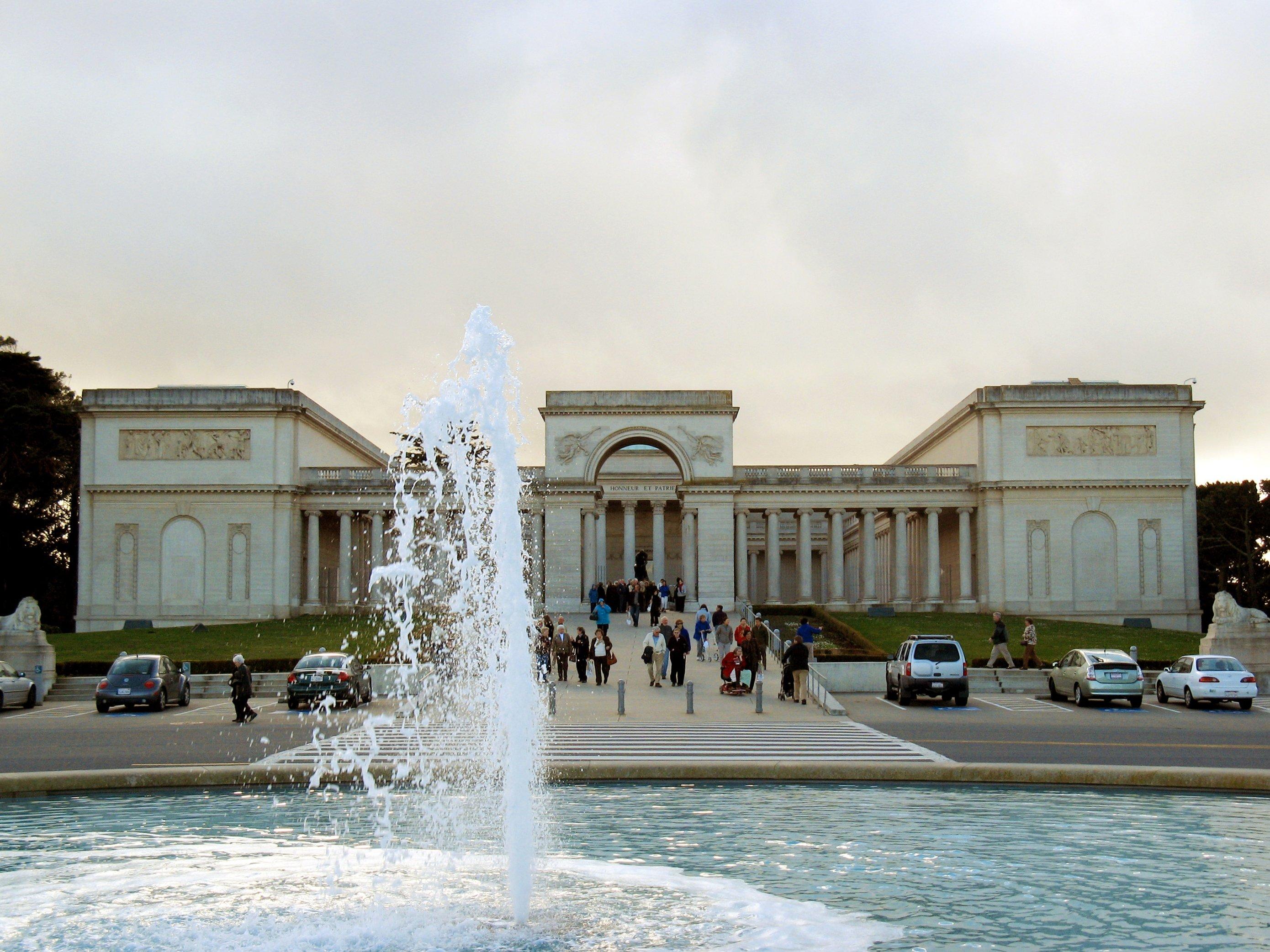 Музей дворца ордена Почетного легиона, в Сан-Франциско