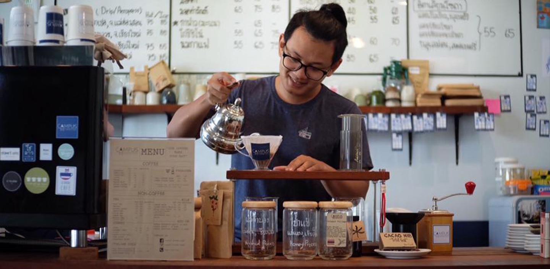 Кофейня Campus coffee roaster