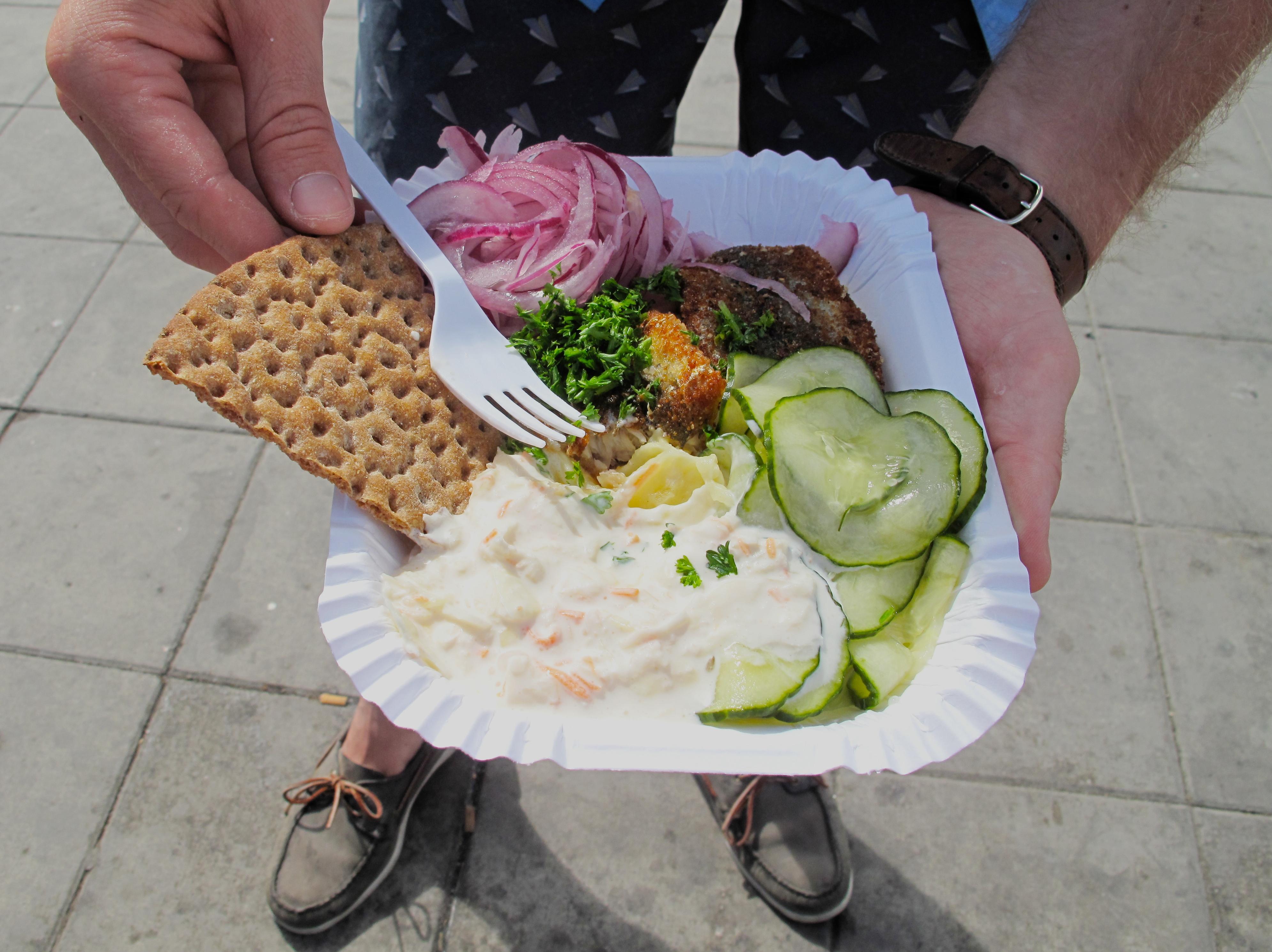 На вынос: уличная еда Стокгольма
