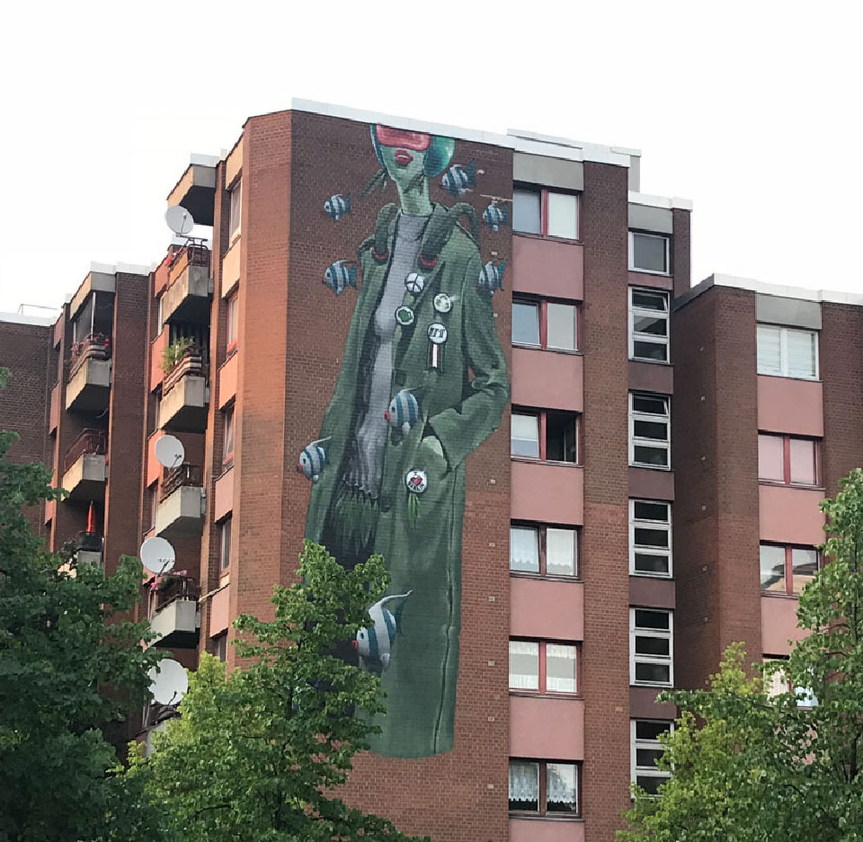 Bülowstraße – галерея и музей стрит-арта