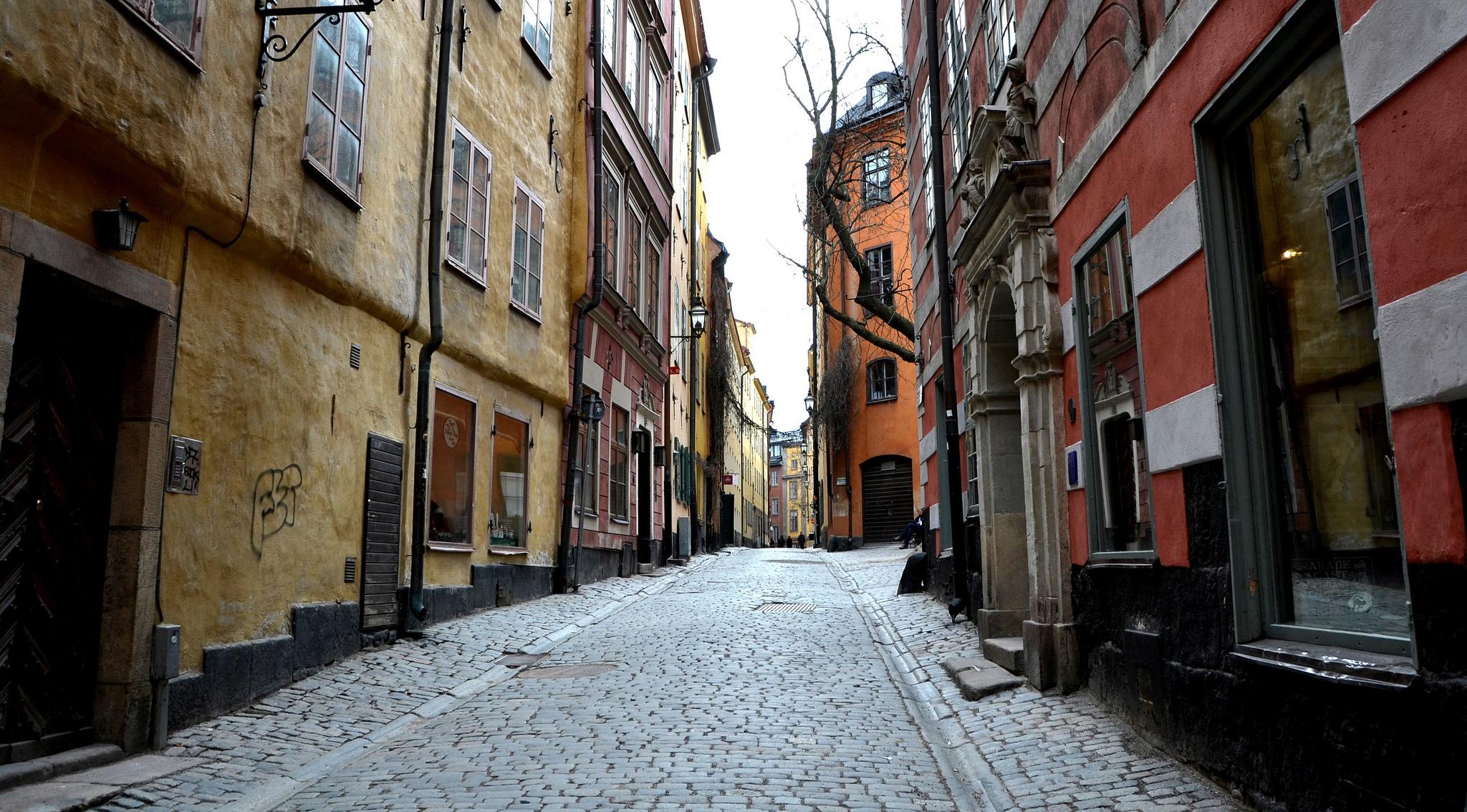 История Стокгольма с размахом - Карлсон, викинги и снег