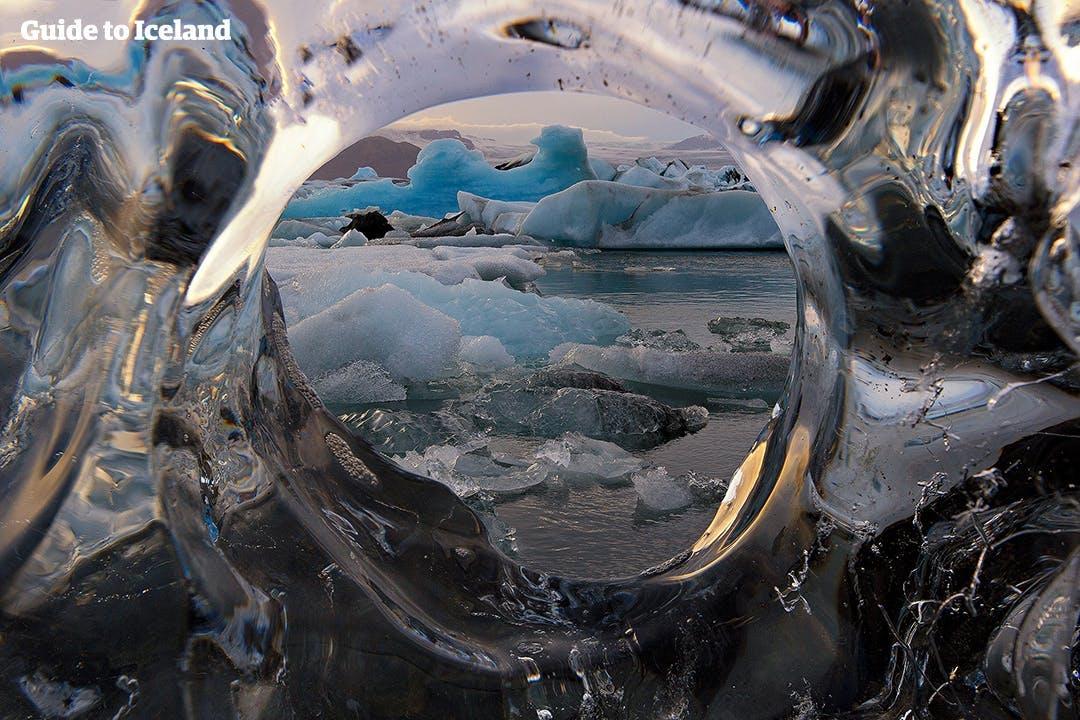 Йёкюльсаурлоун, Бриллиантовый пляж