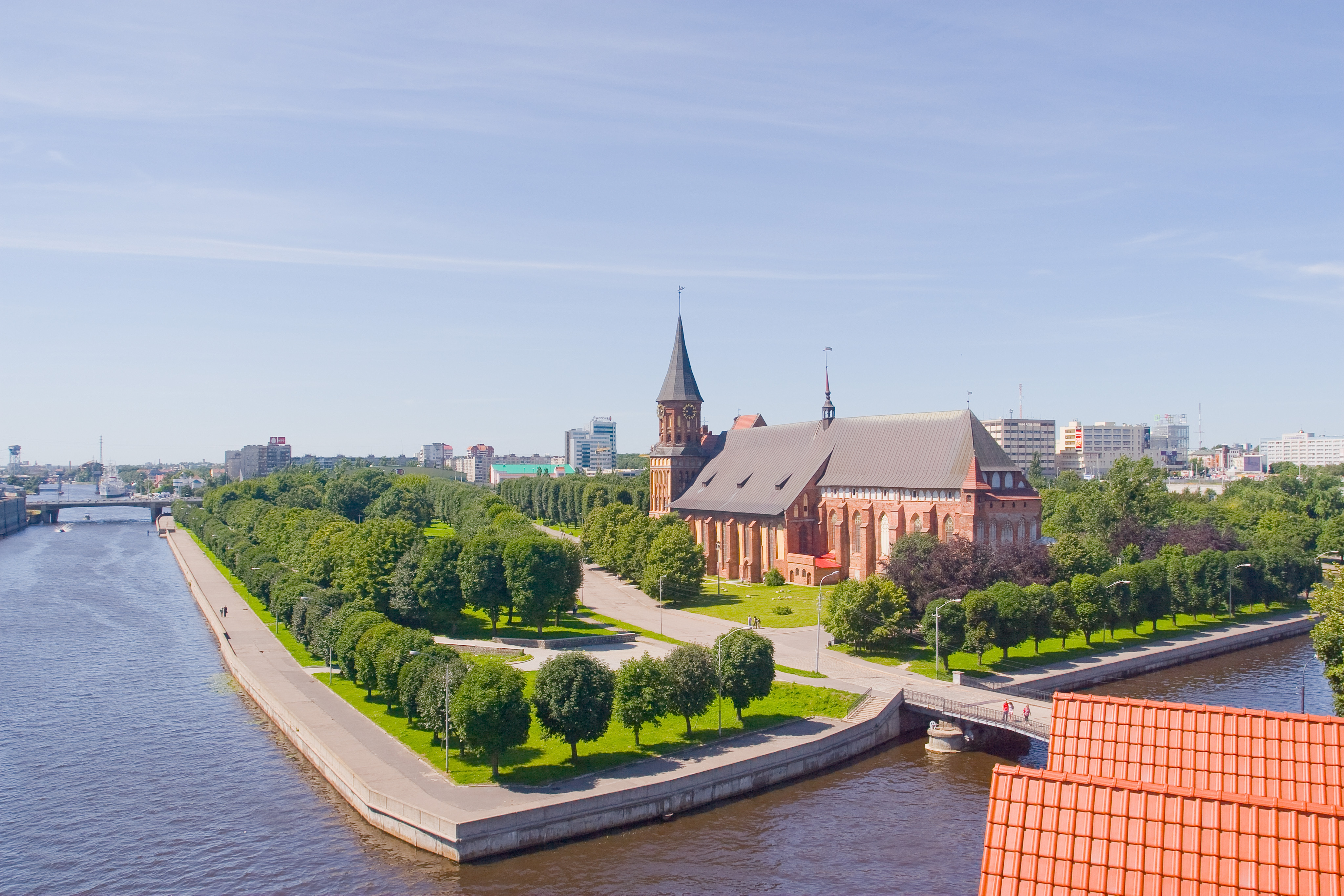 Калининград: окно в Европу