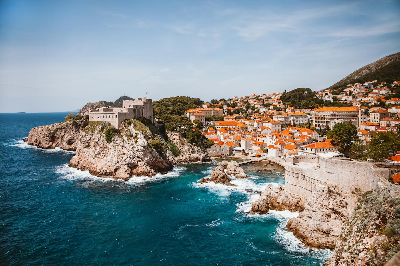 Дубровник: оранжевые крыши и морские приключения