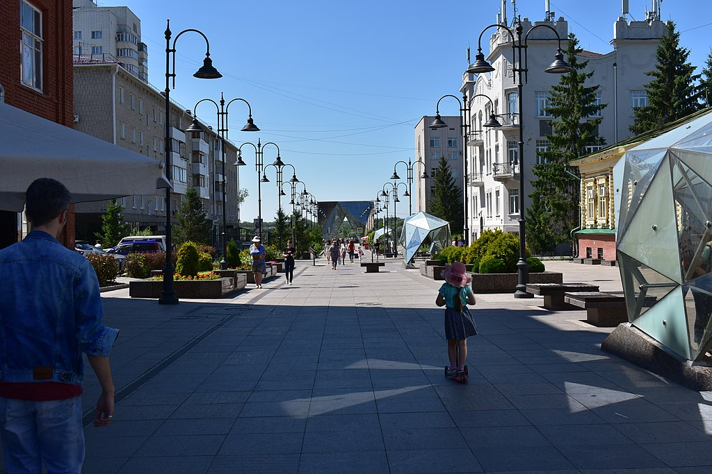 Пешеходная улица имени Чокана Валиханова