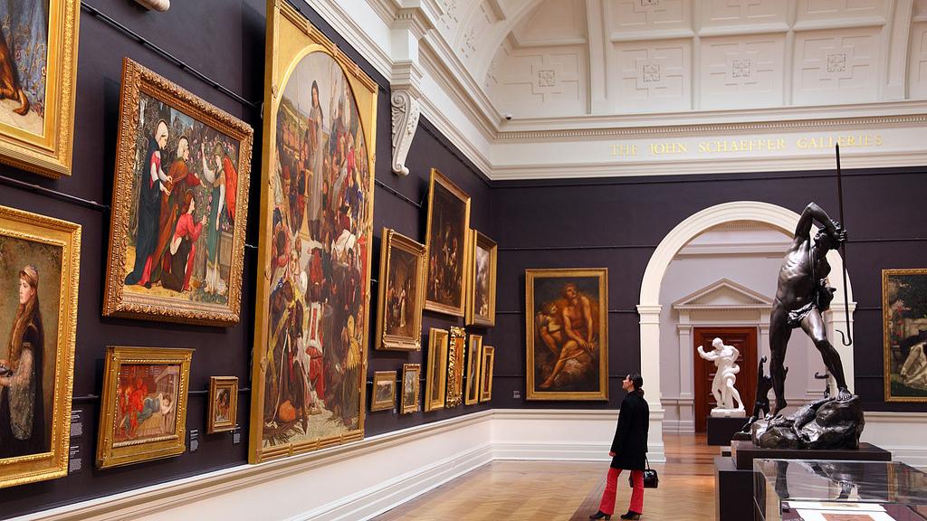 Art Gallery of NSW (Художественная Галерея Нового Южного Уэльса)