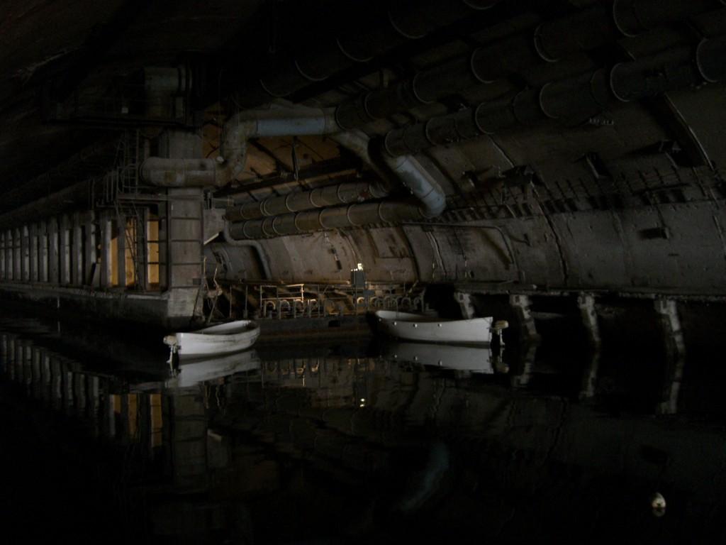 Завод подводных лодок в Балаклаве