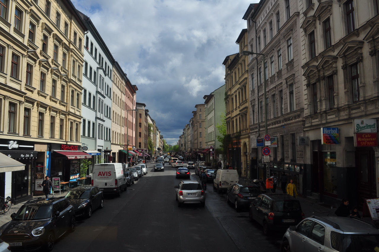 Угол Oranienstrasse и Adalbertstrasse