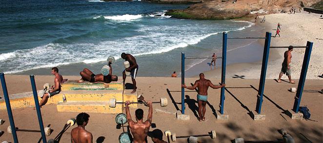 Пляж Arpoador