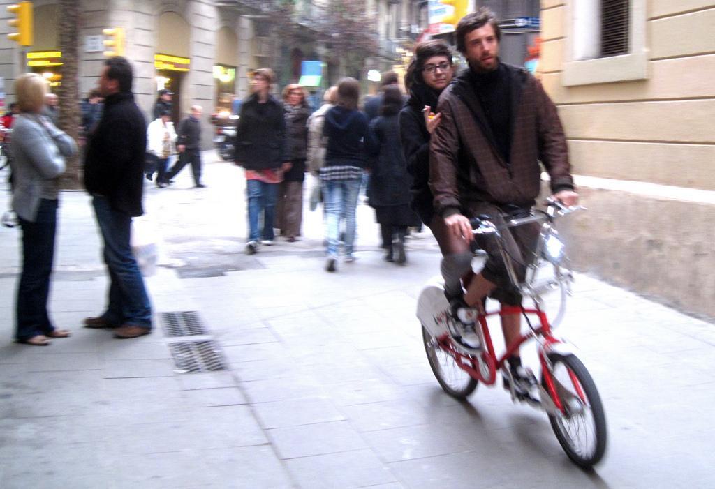 Barcelona Folding Bike